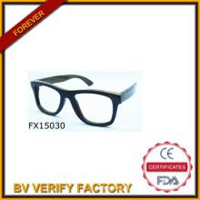 2015 handgemachte einfache hölzerne Sonnenbrille (FX15030)