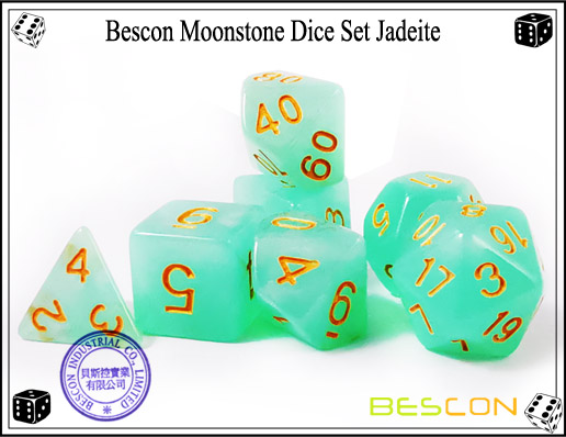 Jadeite Dice Set-2