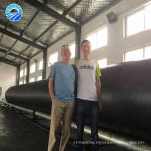 Airbag de goma inflable marina a prueba de explosiones de alto voltaje