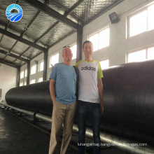 High voltage explosion-proof marine inflatable rubber airbag