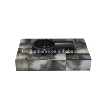 Black Seashell Zigarre Holz Aschenbecher für Rauchen Zubehör