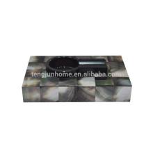 China wholesale black mother of pearl cohiba cigar ashtray