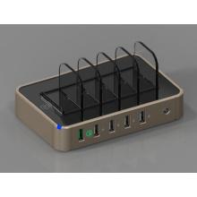 Chargeur public d'USB de port de la station de charge 5 de téléphone portable de fournisseur de la Chine