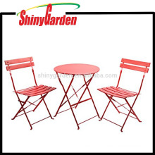 Outdoor Patio Furniture Sets, Bistro Sets, Steel Folding Table and Chair Sets