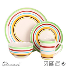 16PCS Ceramic Stoneware Dinner Set Hot Selling Manufacture