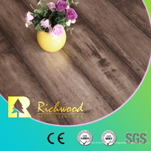 Revestimento laminado de madeira de madeira estratificado do carvalho da textura de Woodgrain de 12.3mm