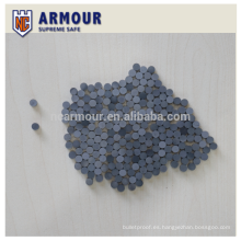 placa de armadura de cerámica a prueba de balas de carburo de silicio