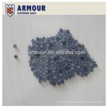 placa de armadura cerâmica à prova de balas de carboneto de silício