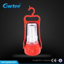 Lampe à lampe solaire à LED rechargeable