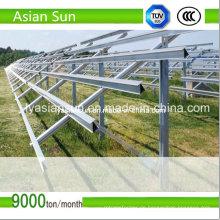 100mW Solar Montage Struktur für Solarstrom PV Großanlage