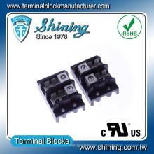 TGP-085-02A 85A 2 Pole LED de distribución de energía del conector de terminal