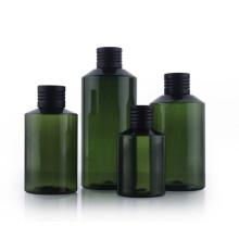 50ml 100ml 300ml 500ml Leakproof Green Lotion Bottle Plastic PET Shower Gel Shampoo Empty Toner Bottles