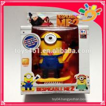 despicable me minion plastic toys electronic despicable me toy