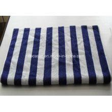 Blue & White Stripes Cotton Face Towel (DCS-9102)