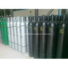 Vender alta pressão de aço sem costura nitrogênio, oxigênio, CO2, cilindro de gás argônio