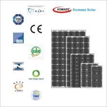 Módulo Monocrystalline do painel da célula solar 95W / picovolt com empresa de TUV / CE / UE