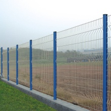 Harga Murah PVC 3D Welded Wire Mesh Panel