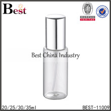 25ml 30ml 35ml cosmetic perfume spray bottle empty clear round perfume spray bottle atomizer glass spray perfume bottle 20ml