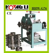 HHW-G76 preços de máquinas de dobra de tubos automáticos para squre / tubo redondo