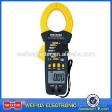 Pinza amperimétrica digital BM2000B con zumbador de continuidad ZERO Corriente CA y CC grande actual 2000A