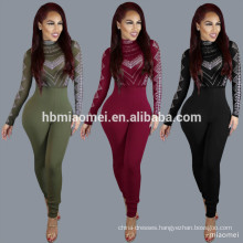 XYLTY-009 2017 Women playsuits rompers ladies pants printed women fashion jumpsuits