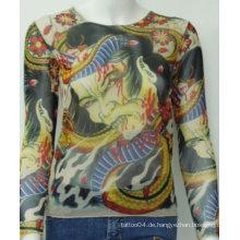 2012 heißes Verkaufs-Tätowierung-T-Shirt / Hülsen-Produkt