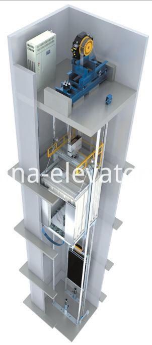 Overhead Traction Passenger Elevator Packages