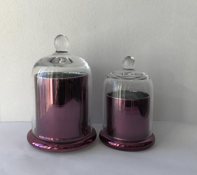 Hand Made Luxury Glass Candle Jar Wholesale2