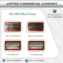 Indian Exporter of Rice Mill Silky Screen at Best Available Price