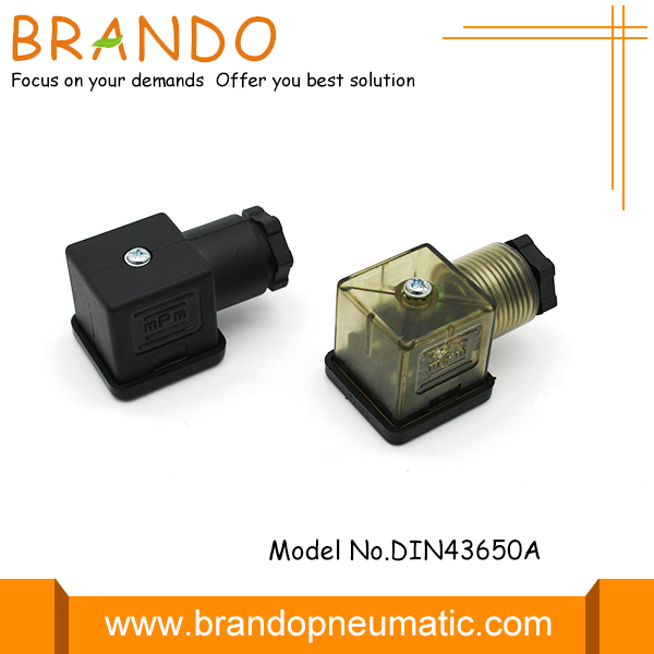 din43650a solenoid valve connector