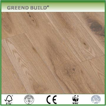 Suelos de madera de roble, materiales de suelo ignífugos Clase B1