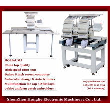 Holiauma Similar to Brother Type Embroidery Machine with Wilcom Software for Cap Garment embroidery Machine 1502n