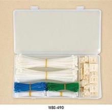 Wbs Series (boîte en plastique) Attaches de câble