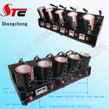 5in1 Tasse Machine de Transfert de Chaleur 5in1 Tasse à Café Machine D'impression Tasse Presse à Chaleur Machine Stc-Kb06