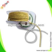cordón trenzado de rayón