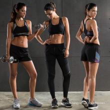 Hot vente élastique mode de vie femmes soutien-gorge de sport plaine