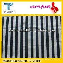 Baumwolle/Spandex Streifen bedruckten Stoff