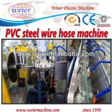 machines de tuyau de fil d'acier en spirale de PVC mou