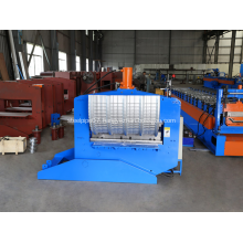 Automatic roofing sheet curving machine