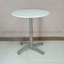 Durable Outdoor Restaurant Round Table with Aluminum Leg and Polypropylene Table Top (SP-AT381)
