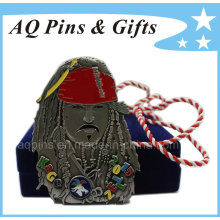 Caribbean Pirates Medal with Lanyard