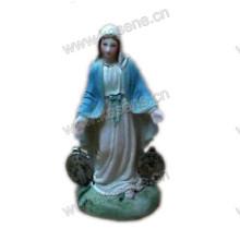 Resin Statuen benutzerdefinierte St. Mary Religiöse Statuen
