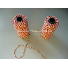 Coton torsadé à 3 fils en coton