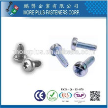 Taiwan Stainless Steel Zinc Oxide Torx 20 Pan Head with 2-3 Lead Thread Trilobular Screw