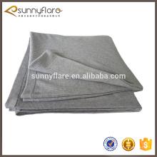 100% manta de malha de caxemira mongolia, cobertor grande doméstico