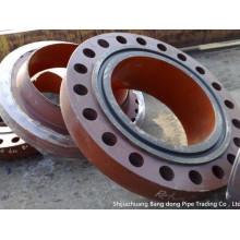 Soudez l'acier allié d'ASTM A182 F12 de brides de cou