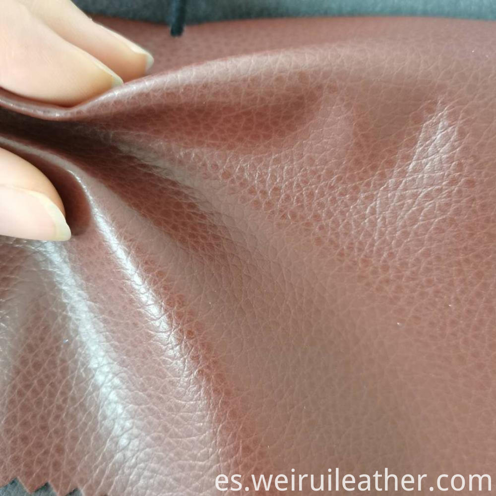 Lustrous Pu Leather With Nonwoven Backing