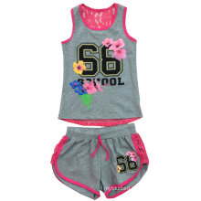 Children Printed Clothing, Baby Girl Suit for Summer SGS-102