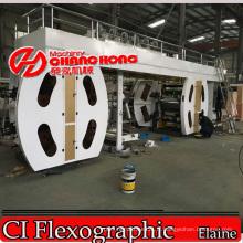 Machine d'impression de tissu de Cottom / imprimante flexographique / machine d'impression de sac de tissu