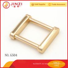 2015 accesorios brillantes del metal del color del oro de las nuevas llegadas para los bolsos